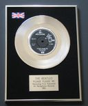 THE BEATLES - PLEASE PLEASE ME PLATINUM single presentation DISC